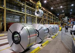 FILE PHOTO: Rolled up steel sits in the ArcelorMittal Dofasco steel plant in Hamilton, Ontario, Canada, March 13, 2018. REUTERS/Mark Blinch/File Photo GLOBAL BUSINESS WEEK AHEAD