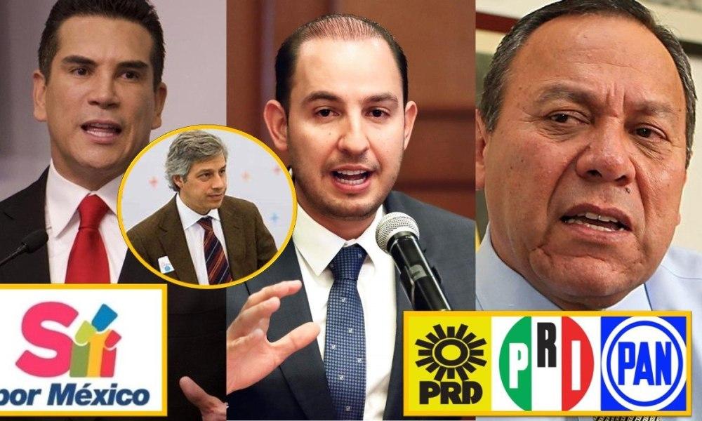 """PAN, PRI y PRD se unen a """"Sí por México"""" de Claudio X González – Liberal  Metropolitano"""